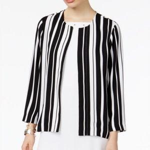 Alfani Women Prima Striped Blazer